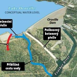 Krize na Orovillské přehradě