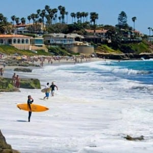 Stoupající hladiny moře zasáhnou nejvíce Kalifornii