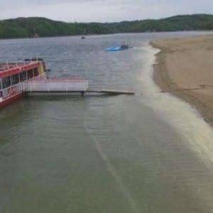 Vranovské přehradě chybí 25 milionů kubíků vody