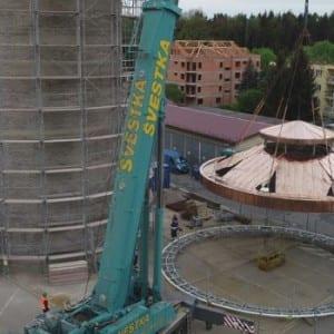 Středočeské vodárny: Kladenský vodojem se pyšní novou střechou