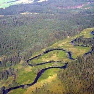 Zákaz splouvání Teplé Vltavy