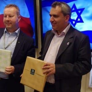 Prohloubení česko-izraelské spolupráce