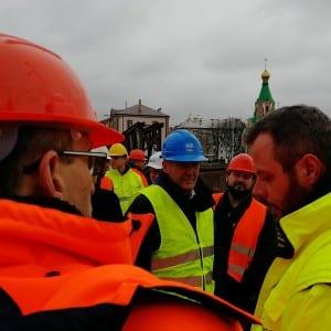 Na jednání v Olomouci zajímala obyvatele bezpečnost a průběh prací