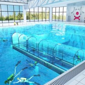 V Polsku otevřou nejhlubší bazén na světě