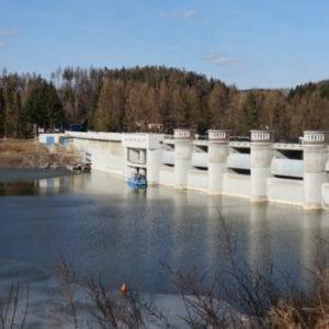 V podjesenické kaskádě Slezská Harta-Kružberk je 210 milionů kubíků vody