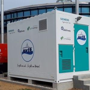 Český Siemens úspěšně odzkoušel  a zprovoznil 300kWh bateriové úložiště