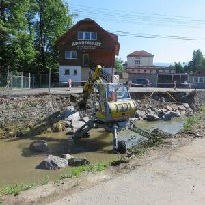 Povodí Moravy odstraňuje povodňové škody