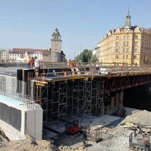 Zahajujeme vrtání pilot na levém břehu Moravy v Olomouci