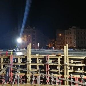 Povodí Moravy úspěšně dokončilo náročnou betonáž tělesa mostu v Olomouci