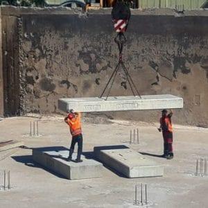Rozsáhlá rekonstrukce vodojemu na Floře