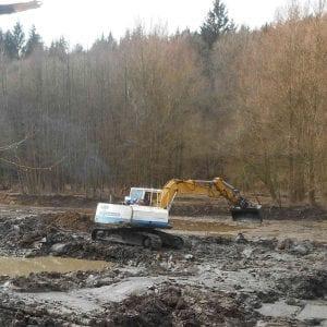Povodí Moravy obnovilo malou vodní nádrž Smolenská
