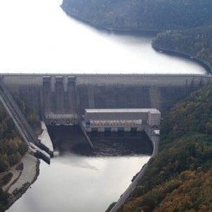 Povodí Vltavy k pohybu hladiny v nádrži Orlík