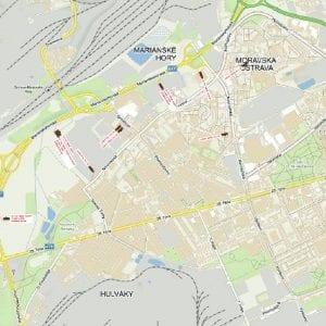 Rozsáhlé omezení dopravy v Ostravě kvůli havárii na dešťové kanalizaci