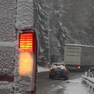 Silnice kolem Šance uzavřena pro kamiony