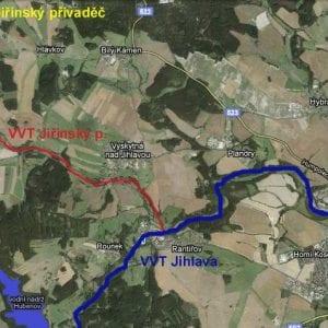 Rekonstrukce Jedlovského přivaděče posílí vodní zdroje pro Jihlavu