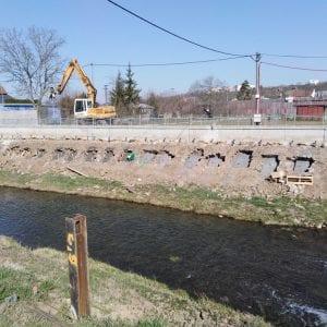 Stavba protipovodňové ochrany Kunovic běží podle plánu