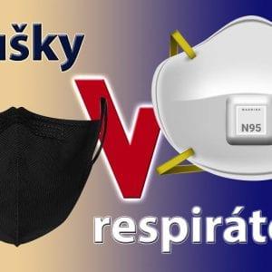 Bavlněné roušky versus respirátory – s čím proti koronaviru