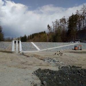 Povodí Moravy dokončuje obnovu vodní nádrže Hrabišín