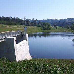 Povodí Odry částečně dopustilo suchou nádrž Jelení