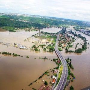 Během prvního týdne povodní v roce 2013 bylo zasaženo 700 obcí a měst