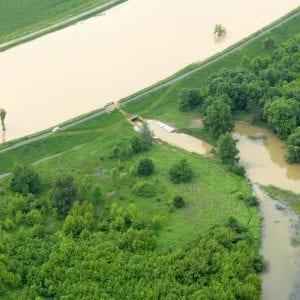 Povodňová situace v povodí Moravy a Dyje