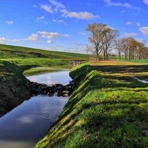 Na Knínickém potoce vznikly nové tůně a mokřady
