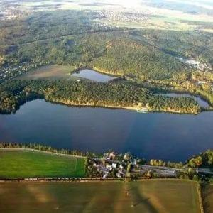 Voda z Berounky do Velkého boleveckého rybníka