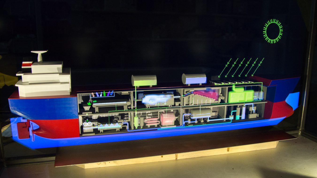 Model procesní lodi pro EXPO 2020_foto_Black & Biscuit