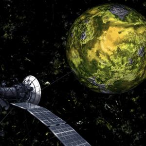 Vyhledávání úniku vody pomocí satelitu
